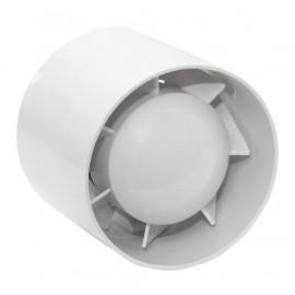 Extractor Para Baño Gravino 15w 100mm Blanco Db 34 180m3h 9,8x10,5