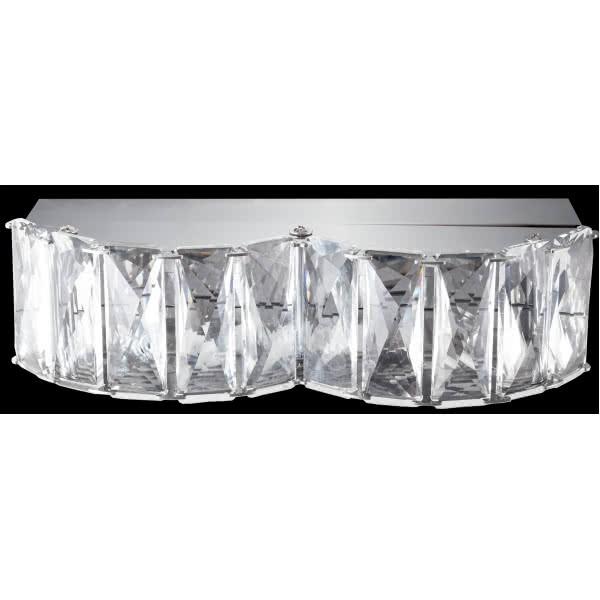 Aplique Led  Cristal Zurique 8w 690lm 4000k 6x20,5