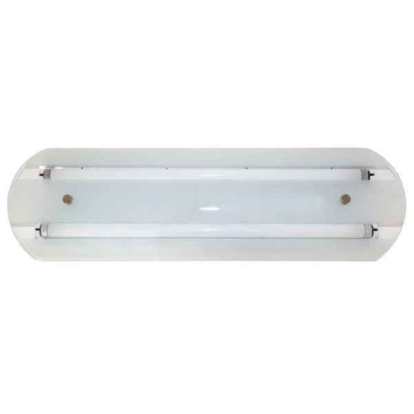 Plafon Jadeite 2xled T8 90 Cm Blanco 6x100x21 Tubo No Incluido