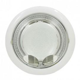 Downlight Serie Shiva Blanco 2xe27 Bombilla Incluida 23d