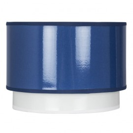 Pantalla Doble Sobremesa Serie Iris Azul E14 18 D.