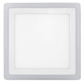 Downlight 6+3w 4000k Cuadrad. Fedra Blanco 720lm 14,5x14,5