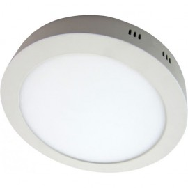 Downlight Sup. Red. 18w 6500k Carlomagno Led Blanco 1425lm 2,8x21,2d