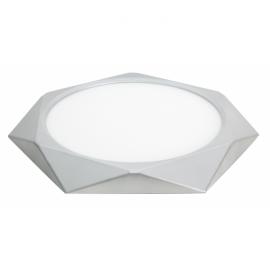 Plafon 24w 4000k Plata Diamond 1920lm 36d