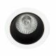 Empotrable Alfabeto 1xgu10 Negroblanco 8d Orientable