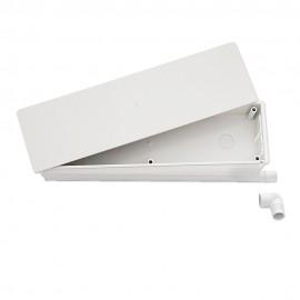 Caja de preinstalación con desagüe bidireccional tabique 45 mm