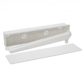 Caja de preinstalación con desagüe muro Salida Vertical