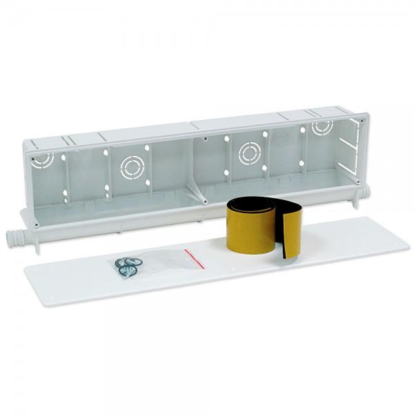 Caja larga de preinstalación con 2 salidas Climabox