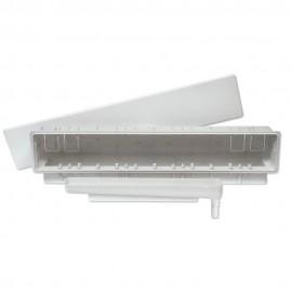 Caja súper de preinstalación con conexión para tubo salida vertical