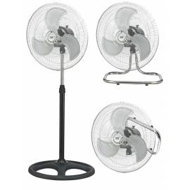 Ventilador Industrial Maestro 3 En 1 80w 46d 3 Velocidades Cromonegro