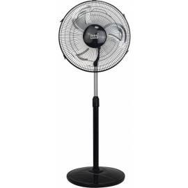 Ventilador De Pie Duster Negroaluminio 80w 97-127x44d 3 Velocidades