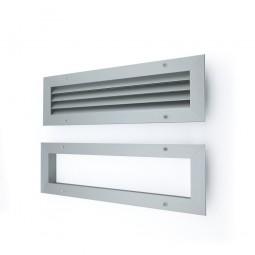 Rejilla ventilacion puertas y tabiques Aluminio.