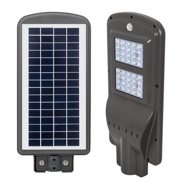 Farola Solar 40w 6000k Street Gris 50x23x6,8 1100lm Ip65