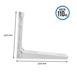 Soportes de poliamida para aire acondicionado 520x450 mm CLIMAPLUS