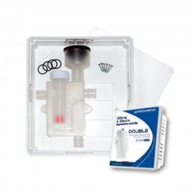 Kit sifón a seco Doble inspeccionable con caja ClimaPlus