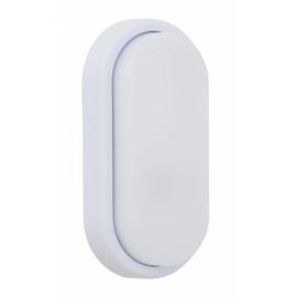 Aplique 18w Surf Ecovision Oval Ip65 Blanco 9,9x19,9x4,8 6400k 1200l