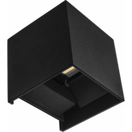 Aplique 6w 6000k Sever Negro 660lm Ip54 10x10x10