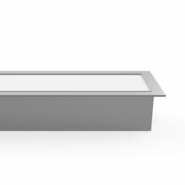 Regleta De Empotrar 20w 4000k Linex Aluminio  1600lm 60x6,5x3,5