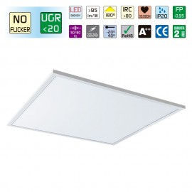 PANEL LED 595X595 BLANCO 4000K MASTER ANTI FLIKER