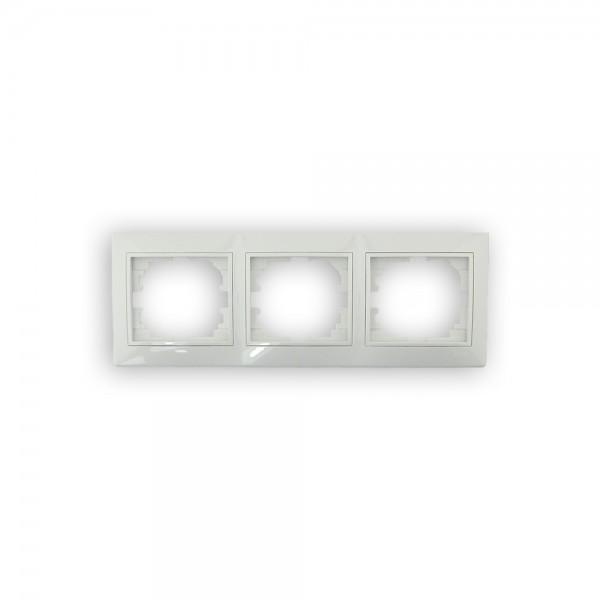 Marco de 3 ventanas blanco Solera Europa