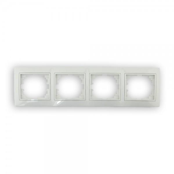 Marco de 4 ventanas blanco Solera Europa