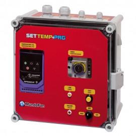 """CUADRO TEMPERATURA """"SETTEMP"""" TRI/TRI 0,75KW (2,2A) + SONDA"""