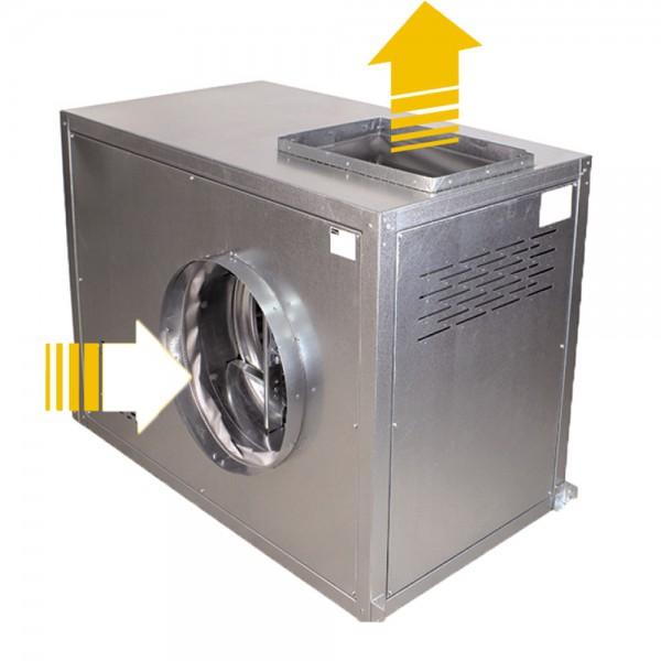 CAJA VENTILACION IMPULSION VERTICAL LG0 VSA-MU 400º/2H 25/13 7,5KW (10CV)