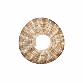 Tubo led navidad flexible 10m, 18w, 300leds y  3000k luz cálida