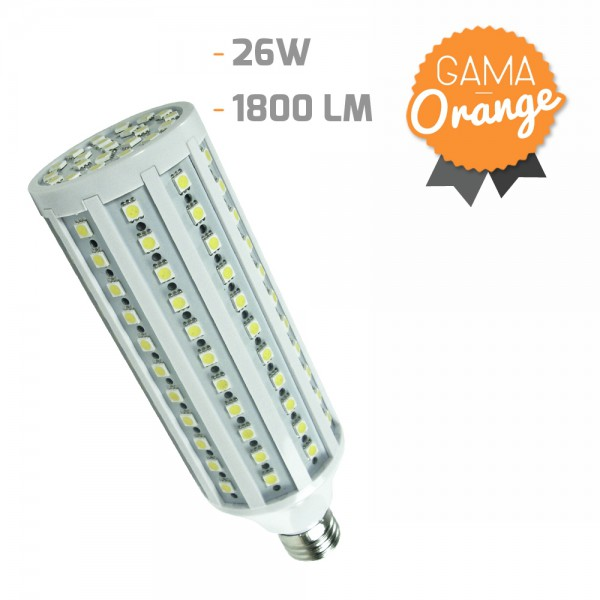 Lámpara led mazorca E27 26W