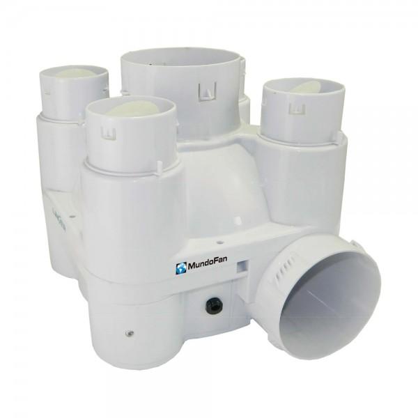 Extractor Multibocas para vivienda unifamiliar VMC