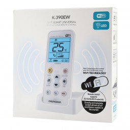 Mando universal wifi aire acondicionado K-390EW