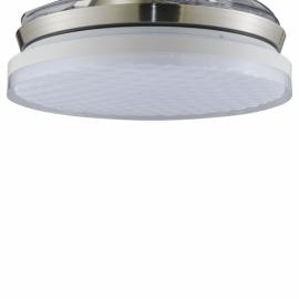 Recambio difusor ventilador blanco modelo Samiel de cristal