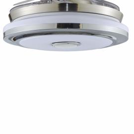 Recambio difusor para ventilador blanco Solano con cristal