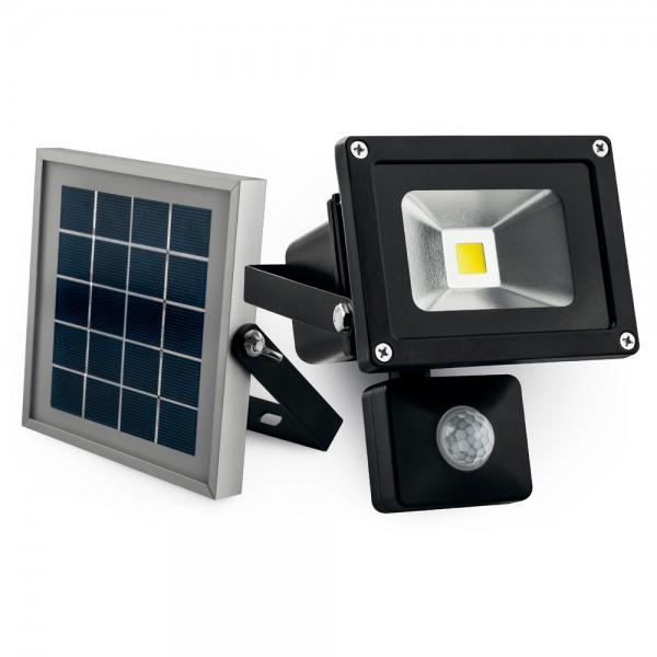Proyector 10w LED solar con sensor de movimiento matel