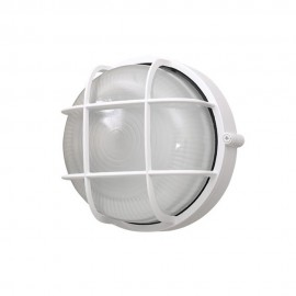 Plafón de Exterior de Aluminio Clásico Circular