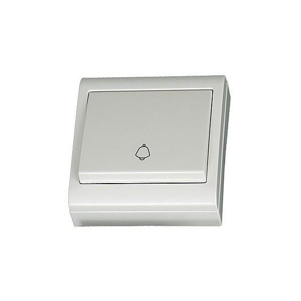 Pulsador de superficiecampana blanco LG80 Focus