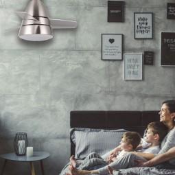 Ventilador de techo Alize luz led y mando incluido