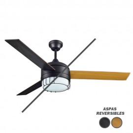 Ventilador de techo con luz Serie Arrow