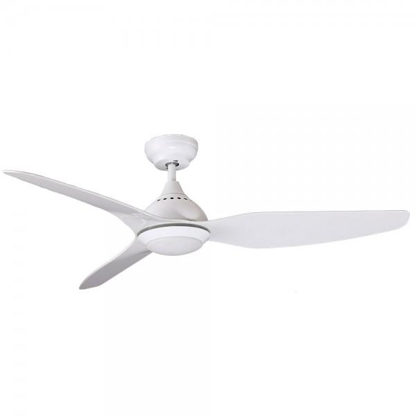 Ventilador de techo DC con luz Serie Tropic Blanco