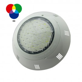 Foco de piscina LED RGB 25W montaje superficie