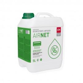 Limpiador desinfectante AIRNET en garrafa de 5l para equipos de aire acondicionado