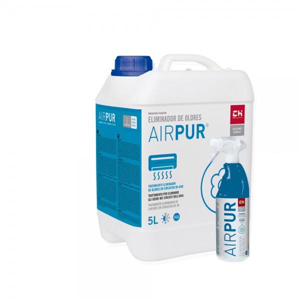 Pack AIRPUR bidón + pulverizador para eliminar olores en circuitos de aire acondionado