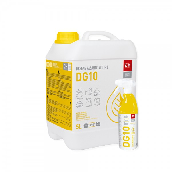 Pack DG10 desengrasante ECO 5l + 750ml