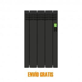 Radiador eléctrico digital Delta 3 elementos Negro