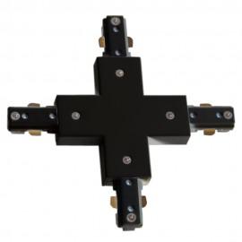 Conector En X Negro 2 Hilos