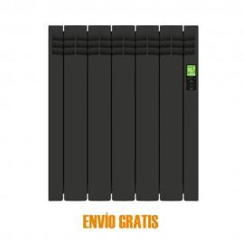 Radiador eléctrico digital Delta 5 elementos Negro