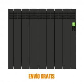 Radiador eléctrico digital Delta 7 elementos Negro