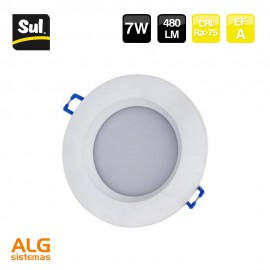 Downlight empotrable led redondo 7W LENECO SUL