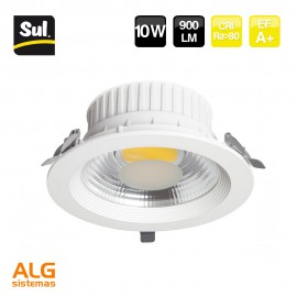Downlight Led COB empotrable 10W LENECO SUL