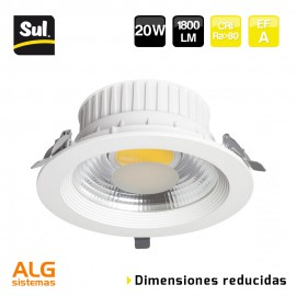 Downlight Led COB empotrable compacto 20W LENECO SUL
